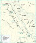 Fifield-cahil ridge map